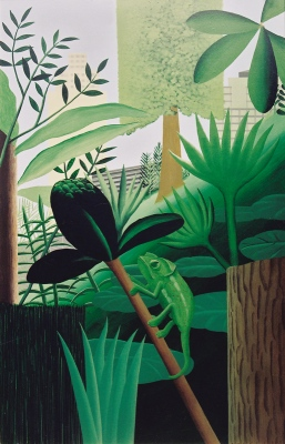 Jungle II, 1999125x187 cm, acrylic on canvas© Regős István